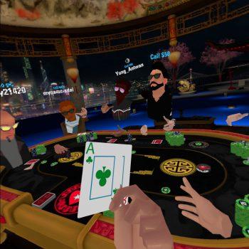 OculusでVRポーカー「PokerStars VR」をやってみた!操作方法や遊び方を解説します